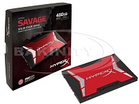 SSD Kingston HyperX Savage 480GB SHSS37A/480G