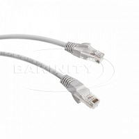 Lan kabel UTP-CAT6 PVC PATCH CORD 1MT (серый)