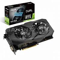 Видеокарта ASUS 6GB RTX 2060 Dual Advanced 6GB (DUAL-RTX2060-A6G) (Ret)