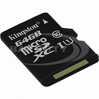 Карты памяти Kingston  SDCS/64GB  Canvas Select UHS-I