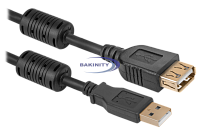 Extension cable USB AM-AF 3m
