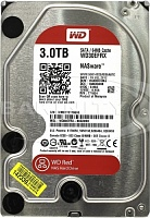 Sərt disk  Western Digital 3TB Red WD30EFRX HDD