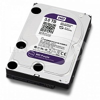 Жесткий диск Western Digital 3TB Purple WD30PURX HDD