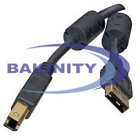 Printer cable USB AM-BM 1.8m