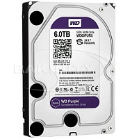 Жесткий диск Western Digital Purple 6TB WD60PURX HDD
