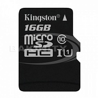 Карты памяти Kingston SDC10G2/16GBSP