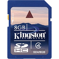 Карты памяти Kingston SDHC4