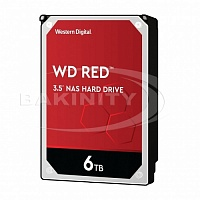Жесткий диск WD Red 6 Tb (WD60EFAX)