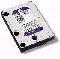 Жесткий диск Western Digital 2TB Purple WD20PURX HDD