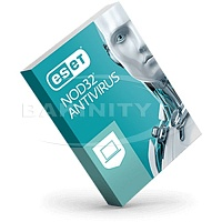 ESET NOD32 Antivirus Basic License 2 year 3 PC
