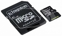 Карта памяти Kingston microSDXC SDCS/256GB