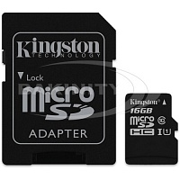 Карты памяти Kingston SDC10G2/16GB