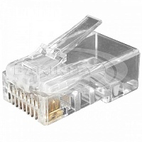 Сonnector RJ45 (jack Cat6) Hyperline PLUG-8P8C-U-C6